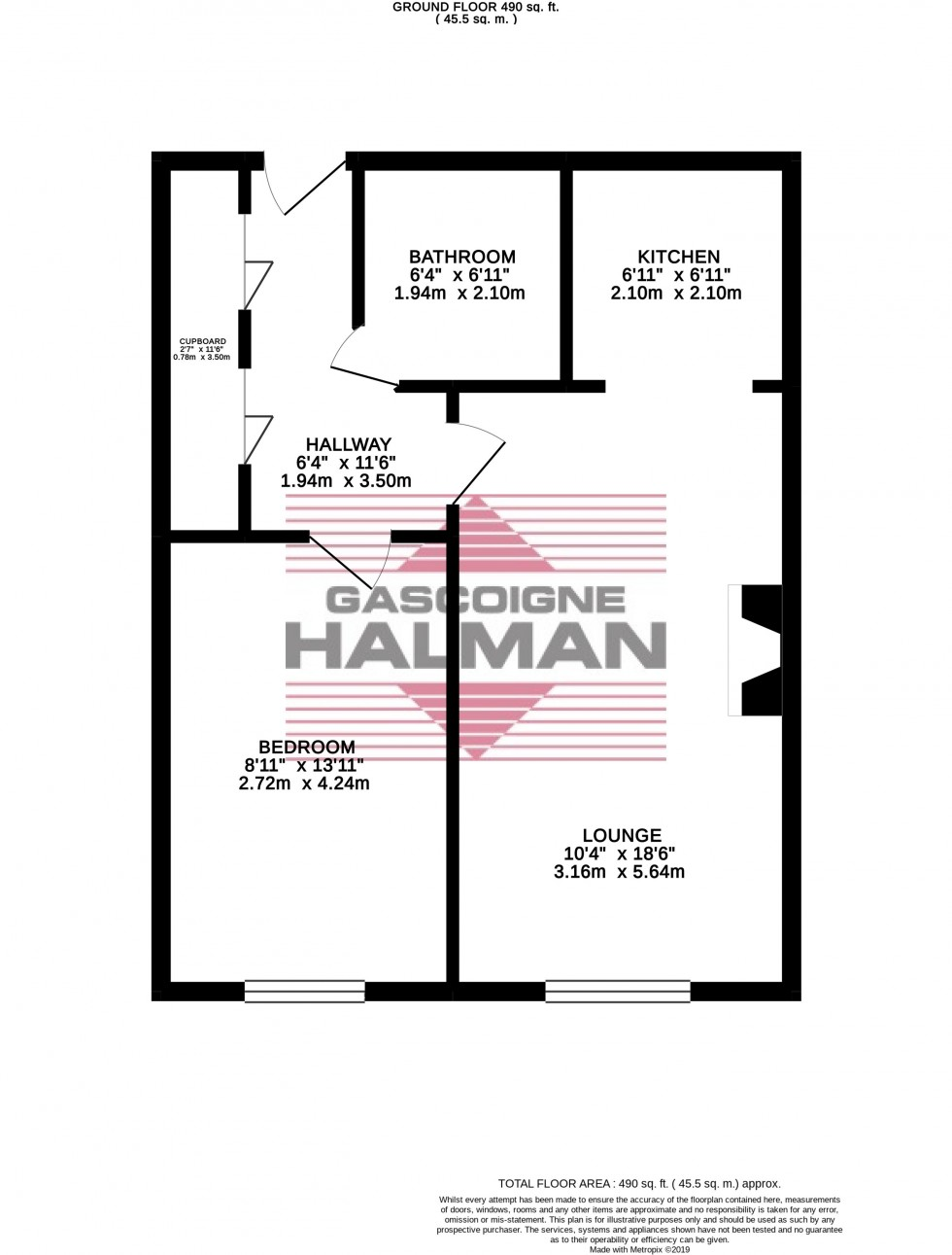 Floorplan for Grove Avenue, Wilmslow