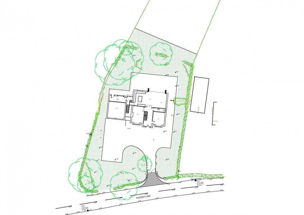 Floorplan for Ryecroft Lane, Stapleford, Near Chester