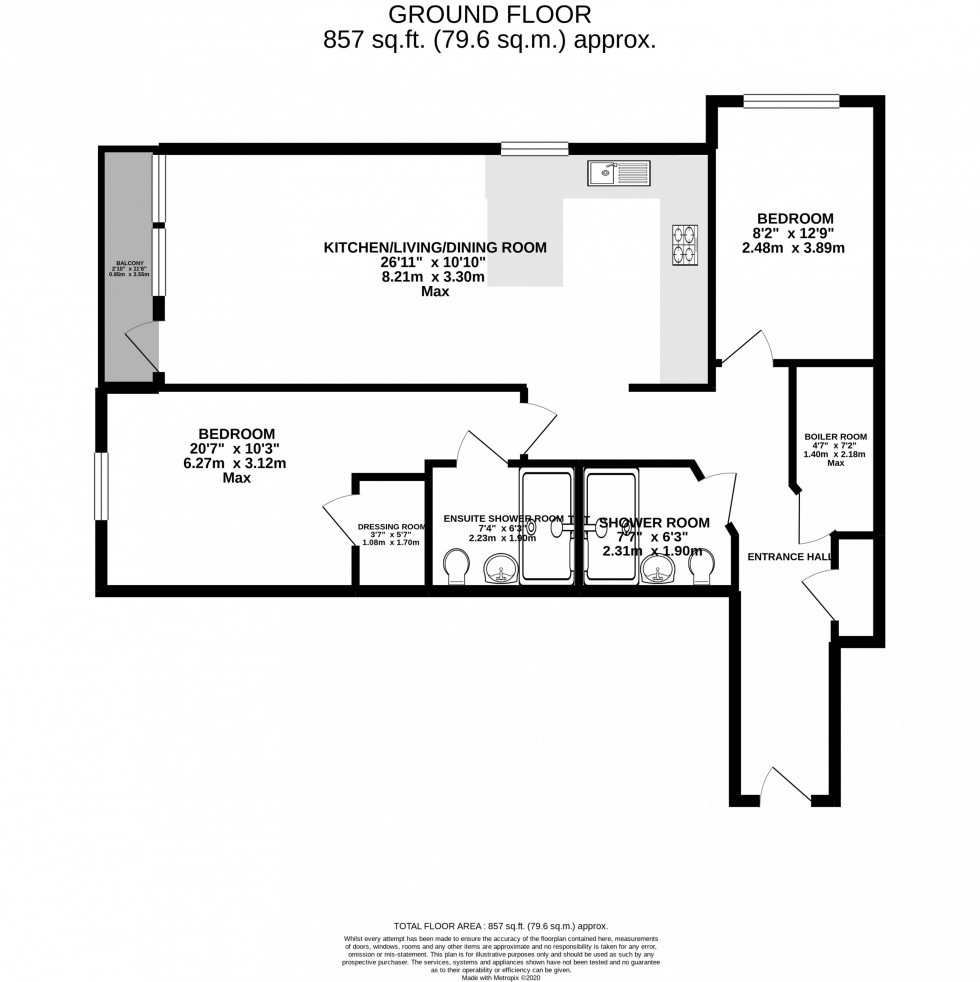 Floorplan for Lawson Grange, Holly Road North, Wilmslow