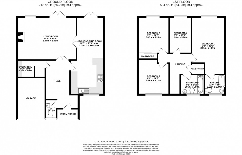 Floorplan for Hollingford Place, Knutsford