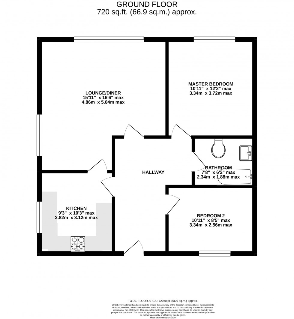 Floorplan for Heaton Moor Road, Stockport