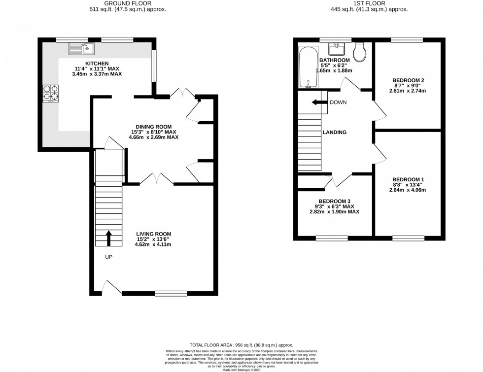 Floorplan for Keepers Close, Knutsford