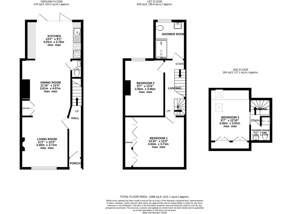 Floorplan for Carlisle Street, Alderley Edge